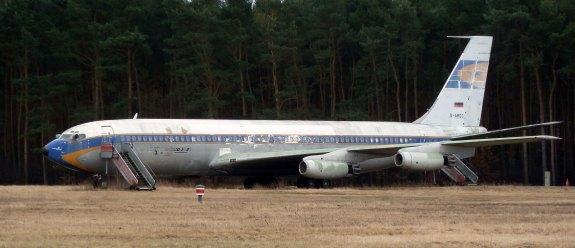 Tegel Airport's Boeing 707