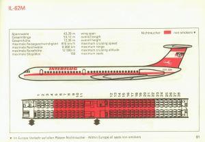 Information sheet from Interflug.