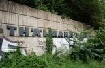 Ernst Thaelmann Park wall