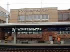 Arriving at Poprad railway station