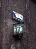 Krakow apartment building numbers