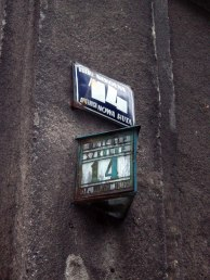 Krakow apartment building numbers