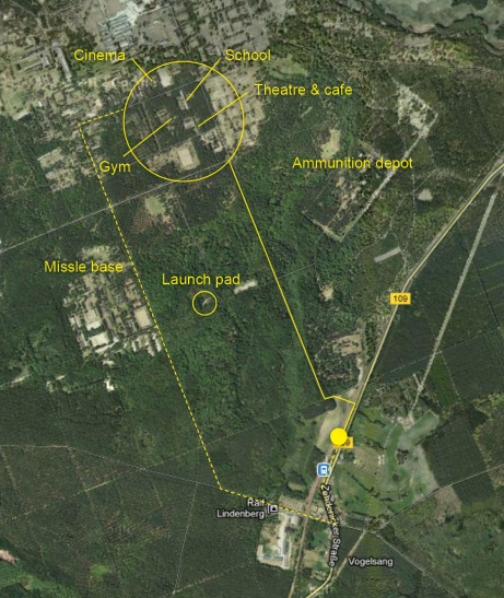 Vogelsang site map