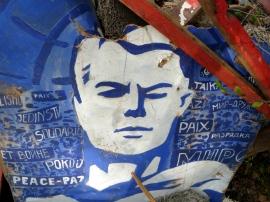 Peace placard