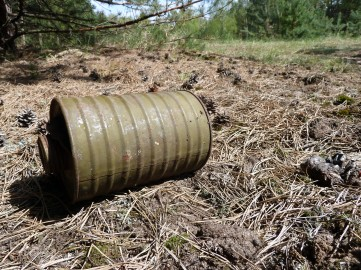 Army cannister