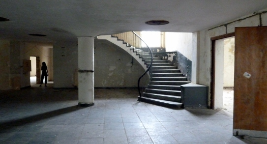 Cool theatre stairway