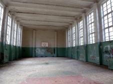 School sports hall