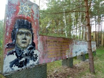 Soviet aviator monument